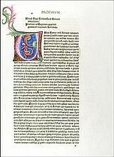 [Illuminated Incunables] Blondus Flavius, 1481-82