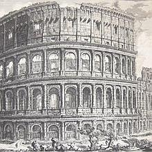 Piranesi, Colosseo, 1757