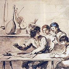 Bartolozzi, Music Lesson