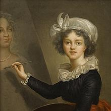 Vigée Le Brun (after), Portrait of the Artist