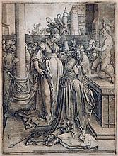 Lucas van Leyden, The idolatry of Solomon, 1514