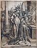 Lucas van Leyden, The idolatry of Solomon, 1514