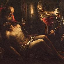 Bassano, Lamentation over the Dead Christ, 1580-82