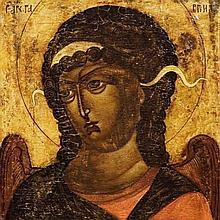 Moskow School, The Archangel Gabriel, 17th century