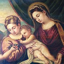 Polidoro da Lanciano, The Madonna and the Child