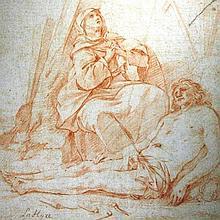 De La Hire, Lamentation of the Virgin on Dead Christ