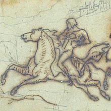 Géricault, Knights