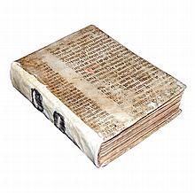 [Bible, Figures] Rampegollo, Figurarum Biblie, 1505