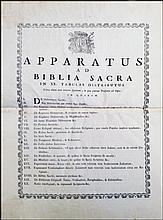 [Bible, Synopsis] Apparatus ad Biblia, 1728