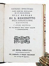 [Prayers, Exercises, Nuns] Various, 2 vols