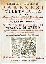 [Mass, Instructions] Sperelli,  1658
