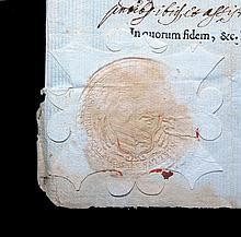 [Manuscripts, Bishops' Certificates ] 4 docs