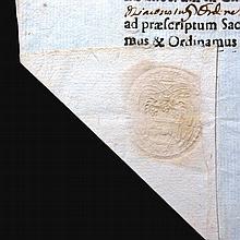 [Manuscripts, Cardinals' Certificates] 4 docs