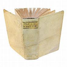 [Bible, Places] Flores Bibliae, 1734