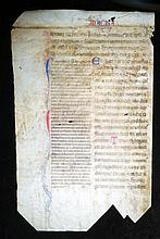 [Bible, Medieval Manuscript on vellum] Italy, ca. 1350
