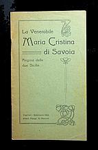 [Saints' Lives, Ven. Maria Cristina of Savoia] 2 vols