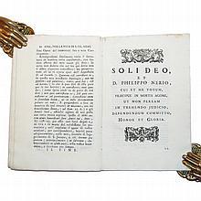 [Saints' Lives, St. Philip Neri] Volpi, 1740