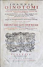 [Civil Law, Commentary] Oinotomus 1762
