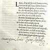 [Shakespeare, Blackfriars] Petrarca, 1553, Kendall copy