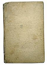 [Medicine, Plague] Bazzicaluve, 1721