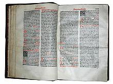 Missale, 1498, printed on vellum