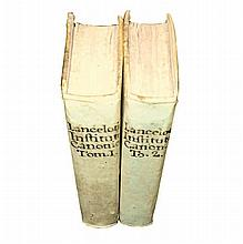 [Canon law, Corpus juris canonici] Lancellotti, 1740