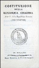 [Cisalpine Republic] Costituzione, Anno V,1797