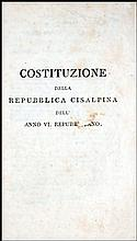 [Cisalpine Republic] Costituzione, Anno VI,1798