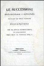 [Cisalpine Republic, Successions, Roman Law] 1803