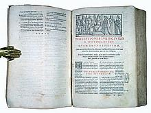 [Sources of Western Law] Justinian, Institutiones, 1581