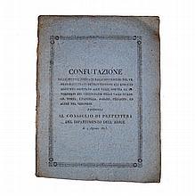 [Verona, Legal Claims] Confutazioni, 1813