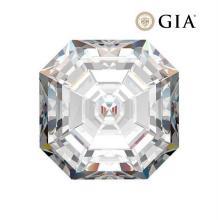 1.60 ct , Color F , VVS2 , Square Emerald cut (GIA). Appraised Value: $50,900