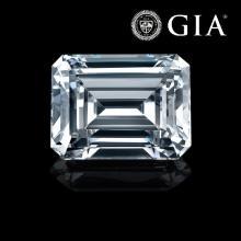 1.10 ct , Color I , VS1 , Emerald cut (GIA). Appraised Value: $16,200