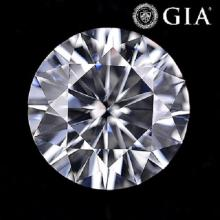 2.02 ct , Color F , VS2 , Round cut (GIA). Appraised Value: $102,500