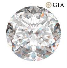 2.02 ct , Color G , VVS1 , Round cut (GIA). Appraised Value: $121,900