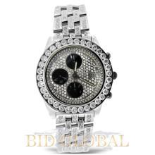 Men's Stainless Steel Diamond Breitling Crosswind. Appraisal Value: $13,400