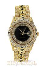Men's Yellow Gold Diamond Rolex Day Date. Appraisal Value: $26,000