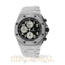 Men's Audemars Piguet Royal Oak Offshore Diamond Watch. Appraisal Value: $46,000