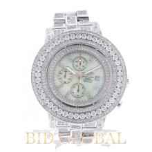 Men's Breitling Super Avenger with Mother of Pearl Dial and Diamonds. Appraisal Value: $11,600