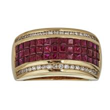 14kt 2.52ct Ruby Ring .Appraisal Value: $7,000