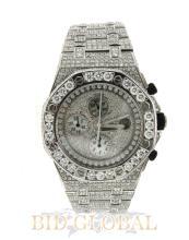 White Diamond Audemars Piguet Royal Oak Offshore. Appraisal Value: $60,600