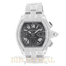 Cartier Roadster Extra Large Chronograph with Black Dial. Appraisal Value: $29,200