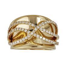 18kt .89ct Round Diamond Ring  .Appraisal Value: $9,200