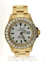 Men's Yellow Gold Diamond Rolex Yacht-Master. Appraisal Value: $36,200