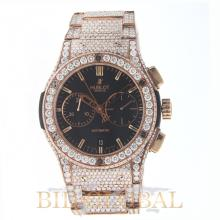 Hublot Classic Fusion 45mm Chronogaph with Diamonds. Appraisal Value: $110,000