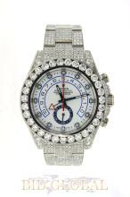 Men's Diamond Rolex Yacht Master II. Appraisal Value: $65,000