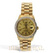 Yellow Gold Rolex President Day-Date. Appraisal Value: $49,200