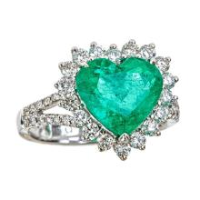 18kt 3.69ct Emerald Ring. Appraisal Value: $47,700