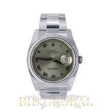 Men's Stainless Steel Rolex Datejust Model 116234. Appraisal Value: $19,600