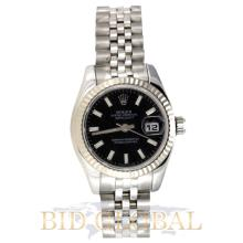 Rolex Date Just Lady 26MM Stainless Steel. Appraisal Value: $16,000